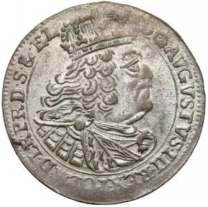 August III Sas, Szóstak Gdańsk 1760 REOE - mniejszy portret