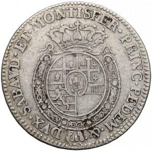 Włochy, Sardynia, 1/4 scudo 1770