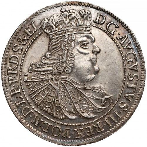 August III Sas, Ort Gdańsk 1758 - pierwszy - RZADKOŚĆ