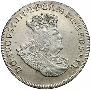 August III Sas, Złotówka Gdańsk 1763 REOE