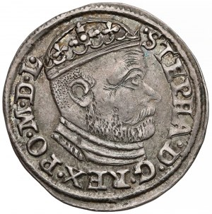 Stefan Batory, Trojak Olkusz 1586 NH