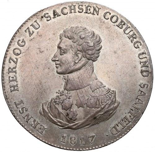 Niemcy, Saksonia-Coburg-Saalfeld, Talar 1817 - piękny