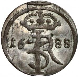 Jan III Sobieski, Szeląg Gdańsk 1688