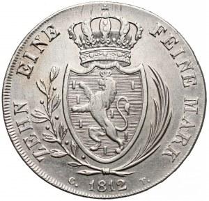 Niemcy, Nassau, Fryderyk Wilhelm, Talar 1812
