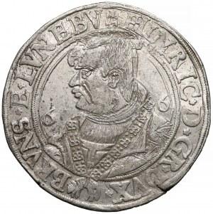 Niemcy, Brunszwik-Wolfenbüttel, Henryk II Młodszy, Talar 1566