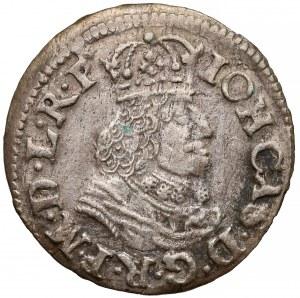 Jan II Kazimierz, Dwugrosz Gdańsk 1652 GR - rzadki rok