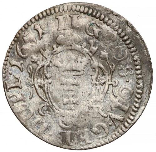 Jan II Kazimierz, Dwugrosz Gdańsk 1651 GR - róże