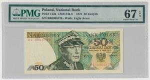 50 złotych 1975 - BR 0000170 - PMG 67 EPQ
