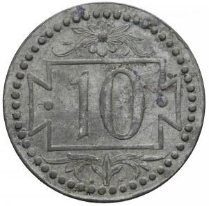 Gdańsk, 10 fenigów 1920 - 54 perełki
