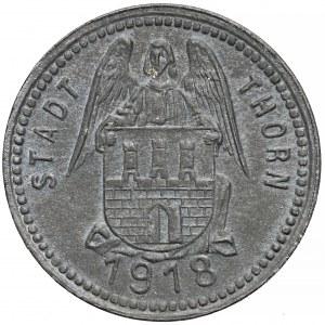 Toruń (Thorn), 10 fenigów 1918