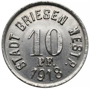 Wąbrzeźno (Briesen), 10 fenigów 1918
