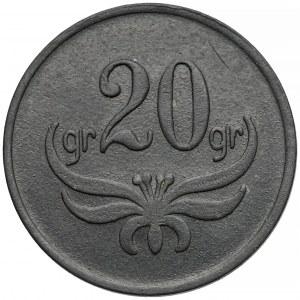 Brodnica, 67. Pułk Piechoty - 20 groszy