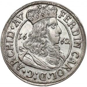 Austria, Tyrol, Ferdynand Karol, 3 krajcary 1662, Hall
