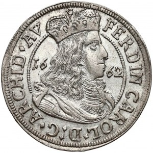Austria, Tyrol, Ferdynand Karol, 3 krajcary 1662