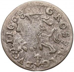 Zygmunt III Waza, Grosz Wilno 1608 - z orłem