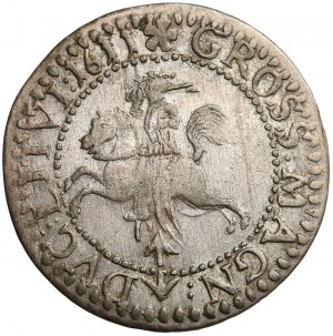 Zygmunt III Waza, Grosz Wilno 1611 - LIT / LITVI