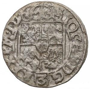 Jan II Kazimierz, Półtorak Poznań 1662 - data przy jabłku