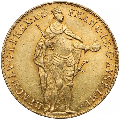 Austria / Węgry, Franciszek I, Dukat 1833
