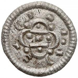 Węgry, Kalman (1095-1116), Denar - dwie linie w rozetce