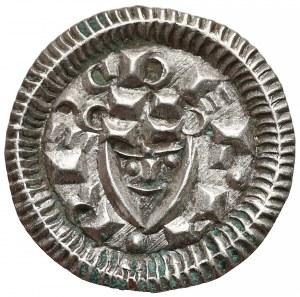 Węgry, Bela II (1131-41), Denar - głowa na wprost