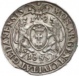 Jan Kazimierz, Ort Gdańsk 1655