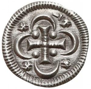 Węgry, Stefan II (1116-31), Denar - krzyż w rozetce