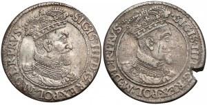 Zygmunt III Waza, Orty Gdańsk 1618 (2szt)