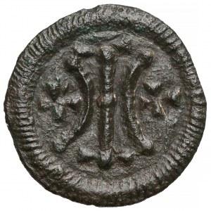 Węgry, Bela II (1131-41), Denar - linie i krzyżyki