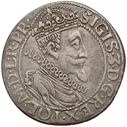 Zygmunt III Waza, Ort Gdańsk 1610 - najrzadszy rok - pojedyncze ogony