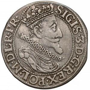 Zygmunt III Waza, Ort Gdańsk 1611 - szersza broda