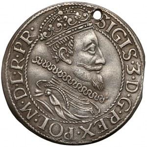 Zygmunt III Waza, Ort Gdańsk 1612 - mniejsza głowa