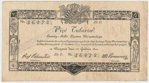 5 talarów 1810 - Jaraczewski