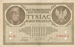 Falsyfikat z epoki 1.000 mkp 05.1919 - Ser.ZG