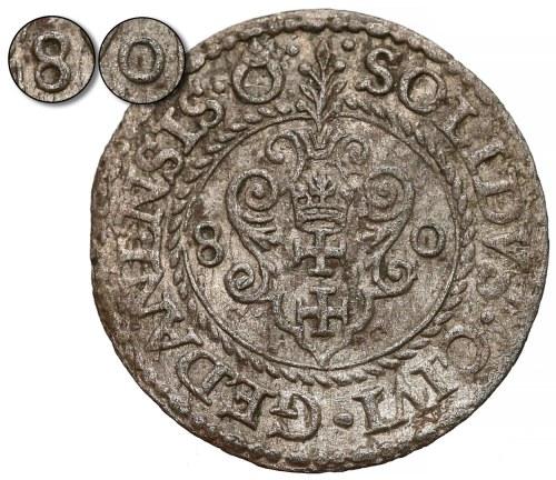 Stefan Batory, Szeląg Gdańsk 1580 - najrzadszy (R7)