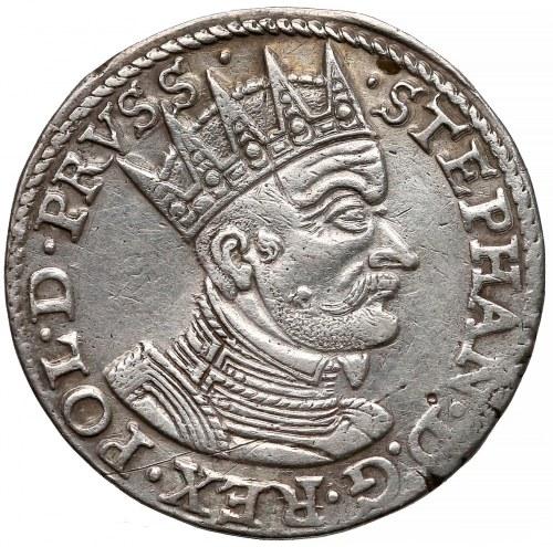 Stefan Batory, Trojak Gdańsk 1579 - b. rzadki