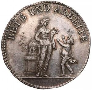Niemcy, Medal Bete und Arbeite