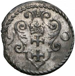Zygmunt III Waza, Denar Gdańsk 1590