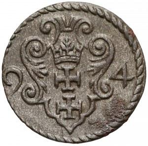 Zygmunt III Waza, Denar Gdańsk 1594
