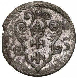 Zygmunt III Waza, Denar Gdańsk 1595