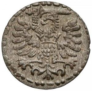 Zygmunt III Waza, Denar Gdańsk 1596 - duża data