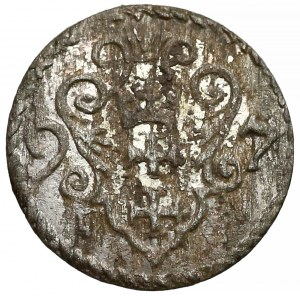 Zygmunt III Waza, Denar Gdańsk 1597