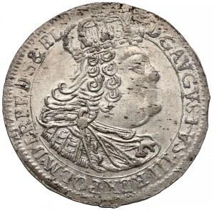 August III Sas, Szóstak Gdańsk 1760 REOE - PIĘKNY