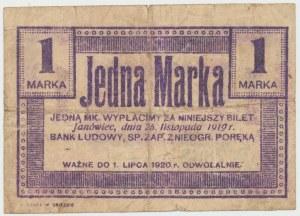Janówiec, Bank Ludowy 1 marka 1919
