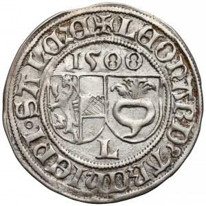Austria, Salzburg, Leonard von Keutschach, Batzen 1500
