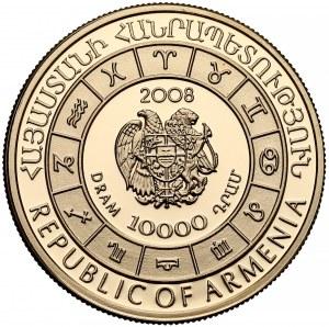 Armenia, 10.000 dram 2008 - Wodnik