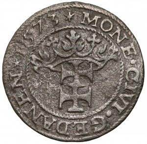 Bezkrólewie, Szeląg Gdańsk 1573 - bardzo rzadki