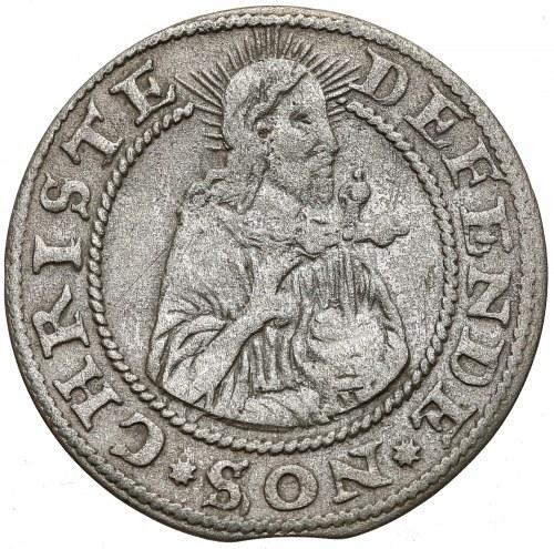 Oblężenie Gdańska, Grosz 1577 - Goebla