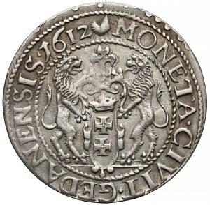 Zygmunt III Waza, Ort Gdańsk 1612 - większa głowa - b.ładny