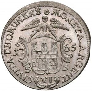 Poniatowski, Szóstak Toruń 1765
