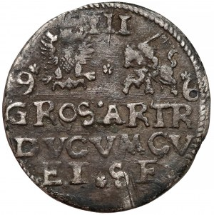 Kurlandia, Fryderyk Kettler, Trojak Mitawa 1596 - rzadki